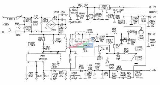 电路 电路图 电子 原理图 534_283
