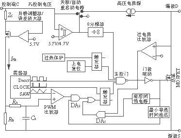 过流保护电路,振荡器,脉宽调制器