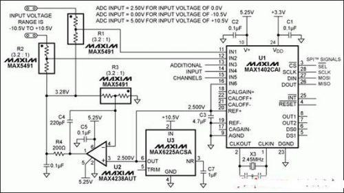 adc输入转换器电路分析
