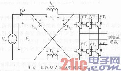 """电动汽车充电站z源光伏并网发电装置 - """"z源逆变器,,"""""""